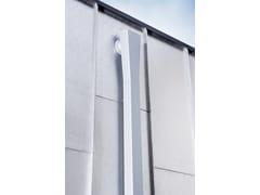 Grondaia, pluviale in alluminioPluviale Quadro - PREFA ITALIA