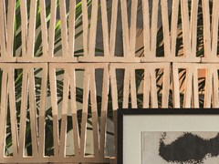- Terracotta room divider TIERRAS ARTISANAL BIG ROMAN - MUTINA