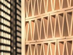 - Terracotta room divider TIERRAS ARTISANAL LITTLE ROMAN - MUTINA