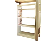 - Double-sided shelving unit DOMINIQUE | Open bookcase - Mathy by Bols