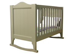 - Rocking wooden cot TILLEUL | Rocking cot - Mathy by Bols
