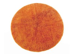 - Solid-color round rug SW RUGS LITHA #2 - STELLAR WORKS