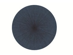 - Solid-color round rug SW RUGS LITHA #1 - STELLAR WORKS