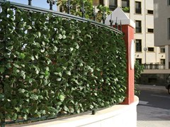 - Synthetic hedge with laurel leaves DIVY LAURUS - TENAX