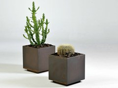 - Metal plant pot MEXICO | Metal plant pot - Lgtek Outdoor