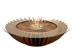 - Freestanding bioethanol steel fireplace COSMO - GlammFire