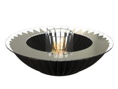 - Bioethanol freestanding steel fireplace COSMO 13 - GlammFire