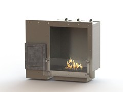 - Built-in bioethanol stainless steel fireplace GLAMMBOX 420 CREA7ION - GlammFire