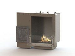- Built-in bioethanol stainless steel fireplace GLAMMBOX 450 CREA7ION - GlammFire