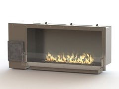 - Built-in bioethanol stainless steel fireplace GLAMMBOX 1150 CREA7ION - GlammFire
