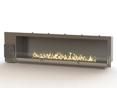 - Built-in bioethanol stainless steel fireplace GLAMMBOX 2150 CREA7ION - GlammFire