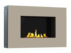 - Bioethanol wall-mounted lacquered steel fireplace MITO SMALL I CREA7ION - GlammFire