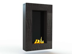 - Bioethanol wall-mounted steel fireplace TANGO I CREA7ION - GlammFire