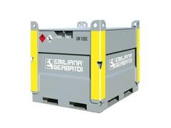 Serbatoio metallico per carburanti EMILCUBE - EMILIANA SERBATOI