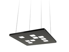 - Lampada a sospensione a LED in plastica MOSAIC MINI - FLASH DQ by LUG Light Factory