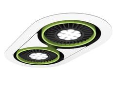 - Faretto a LED da incasso TETRIS B - FLASH DQ by LUG Light Factory
