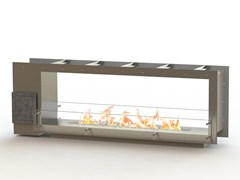 - Open built-in bioethanol fireplace GLAMMBOX 1600 DF CREA7ION - GlammFire