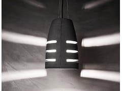 - Concrete pendant lamp BATTAGLIA 210 - URBI et ORBI