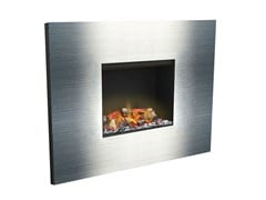 - Electric built-in fireplace with remote control SENSES IV 3D - GlammFire