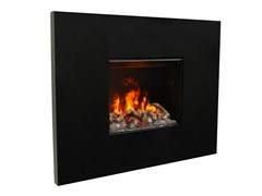 - Electric built-in fireplace with remote control SENSES II 3D - GlammFire