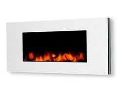 - Electric wall-mounted leather fireplace GL 1200 - GlammFire