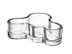 - Blown glass serving bowl ALVAR AALTO   Serving bowl - iittala
