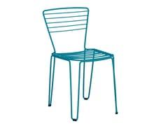 - Galvanized steel garden chair MENORCA | Chair - iSimar