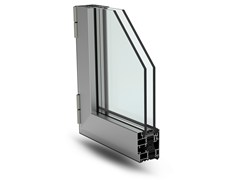 - With concealed fittings window PLANET 62 HI - ALsistem