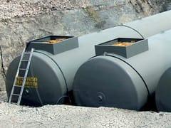 Serbatoi da interro per carburanti SERBATOI MONO PARETE - EMILIANA SERBATOI