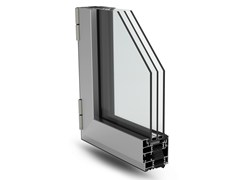- With concealed fittings window PLANET 72 HI - ALsistem