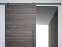 - Metal sliding door track Minimal legno V-6040 - Metalglas Bonomi