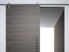 - Metal sliding door track Minimal legno V-6060 - Metalglas Bonomi