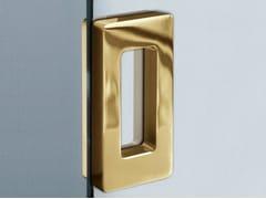 - Metal glass door handle V-511 - Metalglas Bonomi