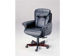 - Executive chair with 5-spoke base 9689W | Executive chair - Dyrlund