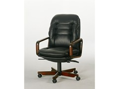- Executive chair with 5-spoke base 8368W | Executive chair - Dyrlund