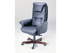- Height-adjustable executive chair with 5-spoke base 9688W | Executive chair - Dyrlund