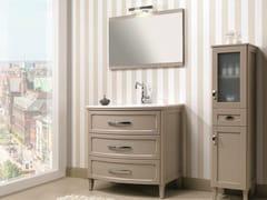 - Floor-standing vanity unit with drawers NATURA 43 | Vanity unit - Mobiltesino