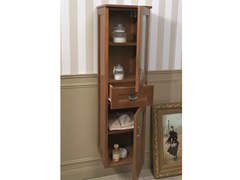 - Tall bathroom cabinet with drawers NATURA 03 | Tall bathroom cabinet - Mobiltesino