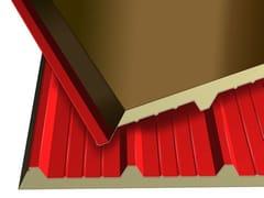 Pannello metallico coibentato per coperturaMONOLAMIERA 5 - ISOTECNICA
