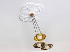 - Direct light handmade brass pendant lamp SS-3 WITH DISC   Brass pendant lamp - Intueri Light
