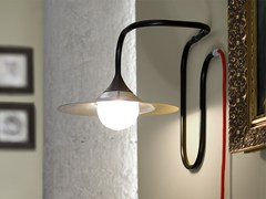 - Halogen handmade wall lamp TURBAYA BLACK | Wall lamp - Intueri Light
