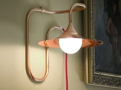 - Copper wall lamp with fixed arm TURBAYA | Copper wall lamp - Intueri Light