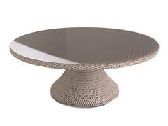 - Round garden table PROVENCE | Round table - Sérénité Luxury Monaco