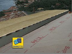 Sistema per tetto ventilatoAIRVENT ECO GRAFITE - GHIROTTO TECNO INSULATION