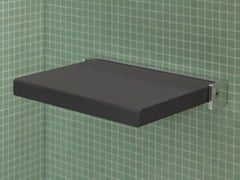 - Folding polyurethane shower Seat OPENSPACE | Shower Seat - DURAVIT