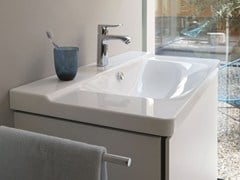 - Rectangular single washbasin P3 COMFORTS | Washbasin - DURAVIT
