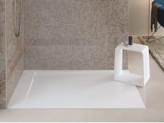 Piatto doccia filo pavimento in DuraSolidP3 COMFORTS | Piatto doccia - DURAVIT