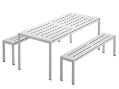 - Steel garden table SANMARCO 2571 - Zanotta