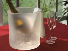 Secchiello per ghiaccio in gel poliuretanicoWINE OT - GEELLI BY C.S.