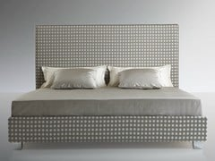 - High upholstered headboard for double bed MODERNE - Treca Interiors Paris